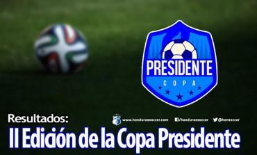 Primeros resultados de la II Edición de la Copa Presidente
