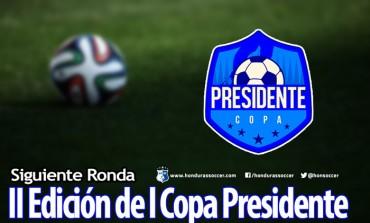 Listos los clasificados a la siguiente ronda de la Copa Presidente