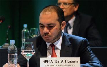El Príncipe Ali Bin Hussein anuncia su candidatura a la FIFA