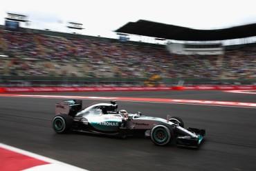 Reventó Hamilton marca de velocidad en México