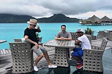 Mayweather, de vacaciones con Justin Bieber