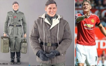 Bastian, el muñeco nazi 'idéntico' a Schweinsteiger