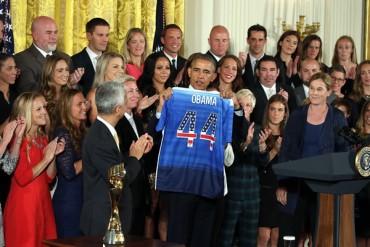 Obama recibió a las Campeonas Mundiales