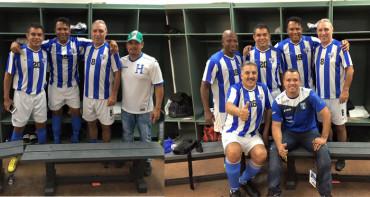 Ex jugadores hondureño llevaron goles y alegría a Miami