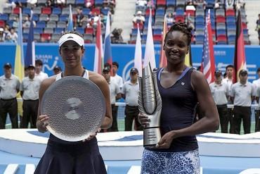 Venus Williams conquistó el Abierto de Wuhan
