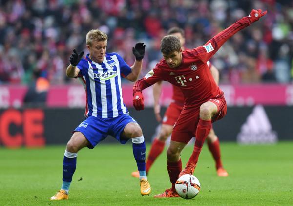 VIDEO: Bundesliga, resumen del Bayern Munich 2-0 Hertha Berlin
