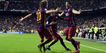 Barcelona humilla y aplasta en el Bernabéu al Real Madrid
