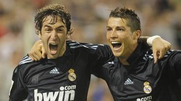 'CR7' elogió a Raúl, previo a su retiro