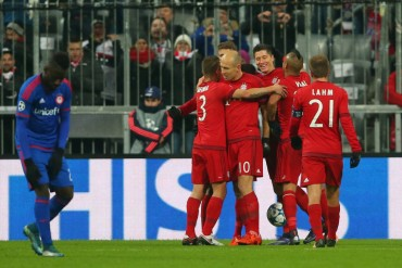 ¡Misión cumplida! El Bayern ya esta en octavos de la Champions League