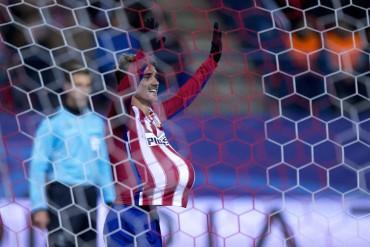 Doblete de Griezmann para sellar el pase del Atlético de Madrid