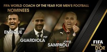 Luis Enrique y Guardiola, nominados a 'Entrenador Mundial de la FIFA 2015