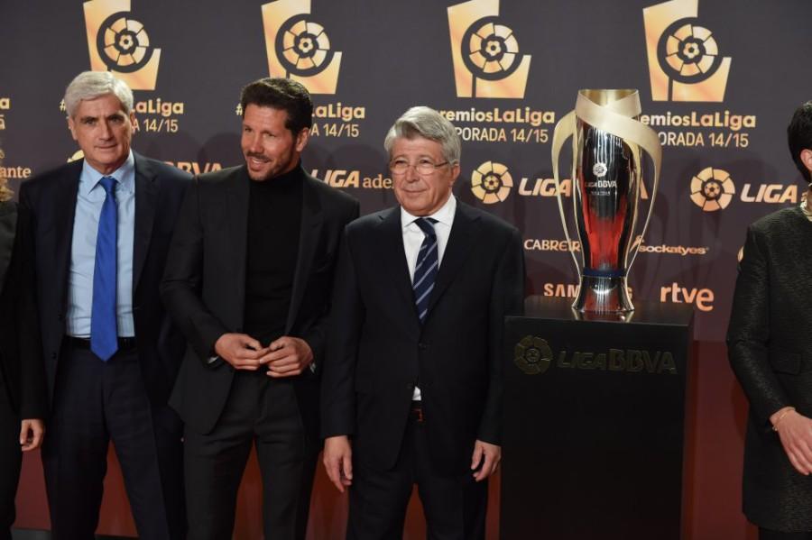 Los premios de La Liga Española 2015