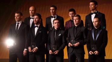 55 futbolistas preseleccionados para el FIFA FIFPro World XI 2015