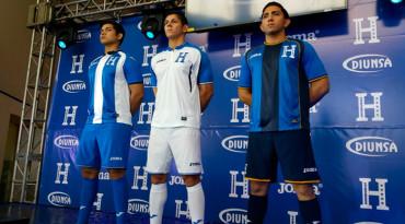 Fue presentada la nueva camisa de la Selección de Honduras