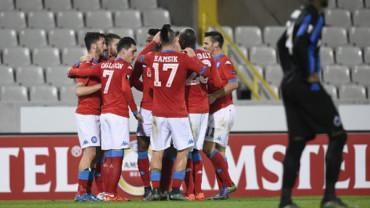 VIDEO: Europa League, resumen del Brujas 0-1 Nápoles