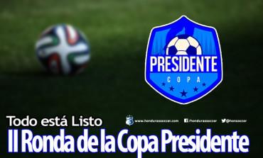Un día cargado de fútbol se vivirá en la segunda ronda de la Copa Presidente