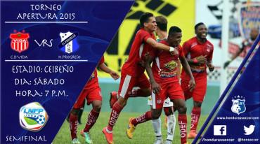 Vida y Honduras Progreso arrancan hoy la semifinal