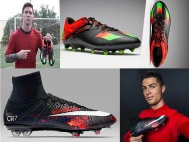 VIDEO: Las peculiaridades de Messi y Cristiano con sus tacos