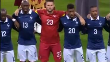 VIDEO: Wembley entonó la Marsellesa en el amistoso de Inglaterra-Francia
