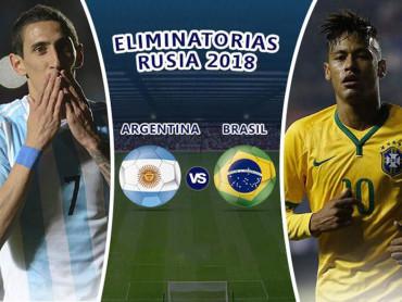 Argentina-Brasil se disputan hoy el superclásico sudamericano