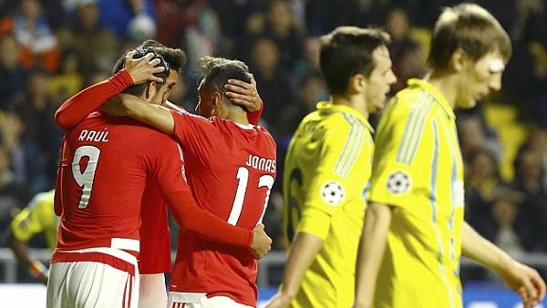 VIDEO: Champions League resumen Astana 2 – Benfica 2