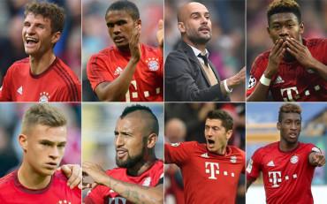 El engranaje perfecto del Bayern de Guardiola
