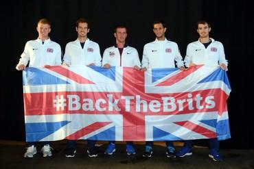 Andy Murray lidera a equipo británico de Copa Davis