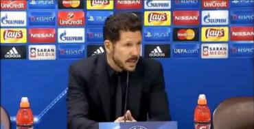 """Simeone: """"No tengo nada que reprocharle al equipo"""""""