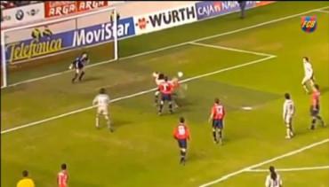 ¡Inolvidable! el gol de Ronaldinho en Pamplona