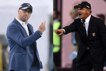 Palermo y Sampdoria despidieron a sus DT
