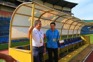 """Pinto: """"El estadio Olímpico es bravo para cualquier equipo"""""""