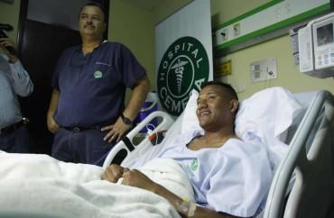 La recuperación de Luis Garrido avanza a pasos agigantados