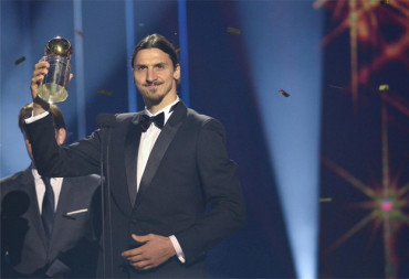 Ibrahimovic gana su décimo Balón de Oro Sueco