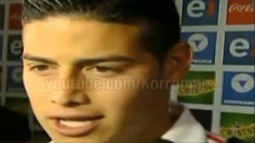 "VIDEO: James Rodríguez: ""Para que digan que no estoy bien"""