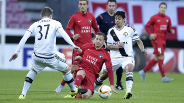 VIDEO: Europa League resumen del Legia 1-0 Midjtylland