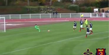 Video: El increíble gol de Kubo, el 'Messi japonés' ex del Barça