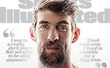 """Phelps: """"Estaba en un lugar muy oscuro, no quería vivir más"""""""