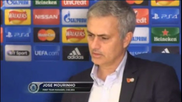"""Video: Mourinho: """"Los cánticos demuestran que se me quiere aquí"""""""