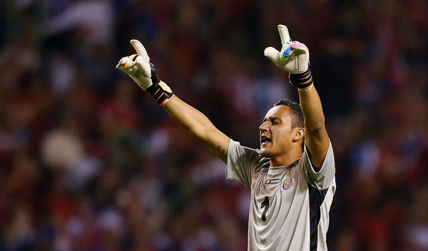 Costa Rica no podrá contar con Keylor Navas para sus primeros partidos clasificatorios