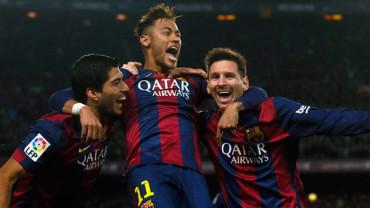 VIDEO: El tridente Messi, Suárez y Neymar se reencuentran