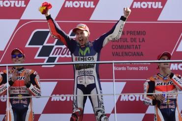 Lorenzo, nuevo Campeón mundial de Moto GP