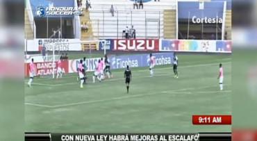Vídeo: Resumen del encuentro entre Olimpia-Juticalpa FC