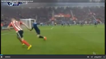 Pellé hace su propia versión de la haka tras marcar un gol
