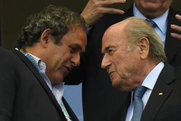 Mantendrán suspensión de Platini y Blatter