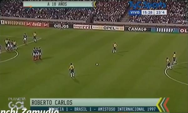 VIDEO: Los mejores tiros libres ejecutados por Roberto Carlos