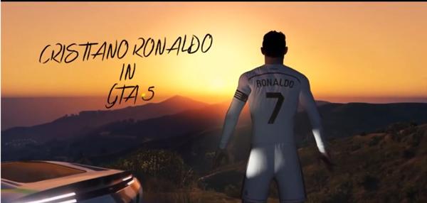 VIDEO: ¡Increible! Cristiano Ronaldo su personaje en el GTA V