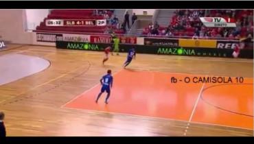 VIDEO: El gol más sutil y maravilloso posible en el fútbol sala