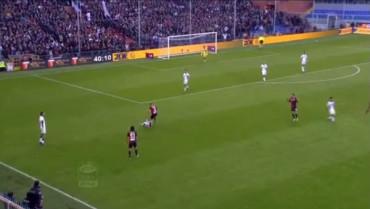 VIDEO: Tres partidos a Berardi por su patada a Ansaldi