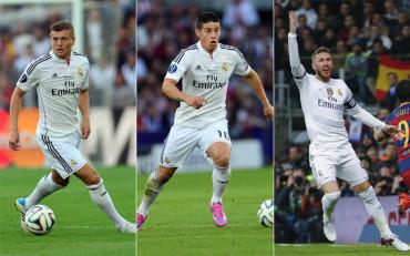 Vestuario dividido en el Real Madrid