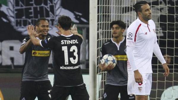 VIDEO: Champions League resumen del B. Mönchedgladbach 4-2 Sevilla